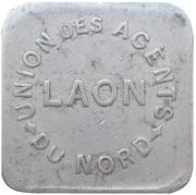 2 Kilos - Union des Agents du Nord (Laon) – obverse