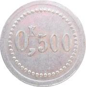 0.5 Kilo - Union des Agents du Nord (Laon) – reverse