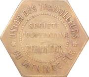 2.5 Kilos - Union des Travailleurs du Chemin de Fer (Tergnier) – obverse