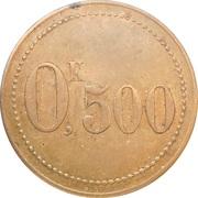0,5 Kilos - Union des Travailleurs du Chemin de Fer (Tergnier) – reverse