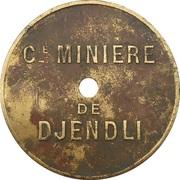 10 Centimes - Cie Minière de Djendli (Constantine) – obverse