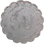 50 Centimes - Avenir Social (Saint Denis) – reverse
