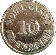 Token - Hotel Casino Ita Enramada (10) – reverse