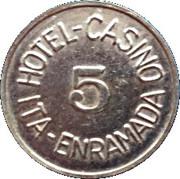 Token - Hotel Casino Ita Enramada (5) – obverse