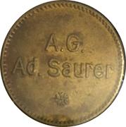 5 Centimes - A.G. Ad. Saurer (Arbon) – obverse