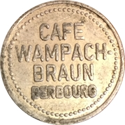 Berbourg - Cafe Wampach-Braun – obverse