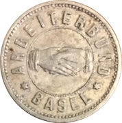 10 Centimes - Arbeiterbund (Basel) – obverse