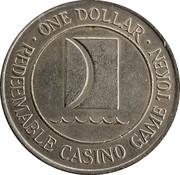 1 Dollar Gaming Token - Carnival Cruise Lines Inc. – reverse