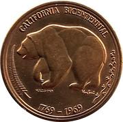 Token - California Bicentennial – obverse