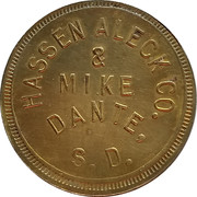50 Cents - Hassen Aleck Co. – obverse