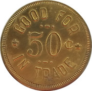 50 Cents - Hassen Aleck Co. – reverse