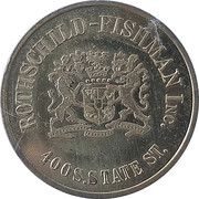 1 Dollar - Rothschild- Fishman Inc. – obverse