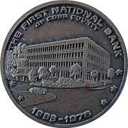 Token - First National Bank of Cobb County – obverse