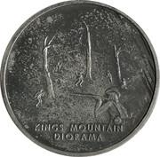 Token - Kings Mountain National Military Park – reverse