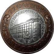 Token - 5 E (1200 years of Apeldoorn) – obverse