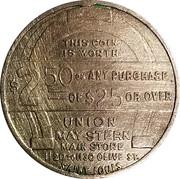 2 ½ Dollars - Union May-Stern – reverse