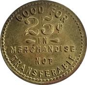 25 Cents - A & B Company – reverse