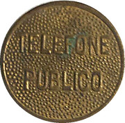 Telephone Token - Telefone Publico – obverse