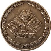 Token - Thomas County Sesquicentennial – obverse