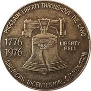 Token - Thomas County Sesquicentennial – reverse