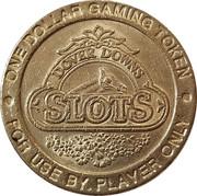 1 Dollar Gaming Token - Dover Downs – obverse