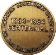 Token - St. Bernard Commandry – obverse