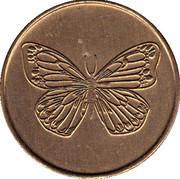 Token (Butterfly) – obverse