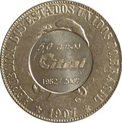 2000 Réis (Countermarked of the company Citral - 50th anniversary) – obverse