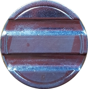 Blank Token (with 2 grooves; 23 mm) – obverse