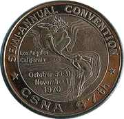 Token - California State Numismatic Association (47th Convention) – reverse
