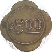 5 Dollars - 405 Illinois Ave – reverse