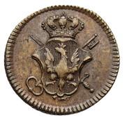 Coin weights - Stanisław August Poniatowski (Ducat) – obverse
