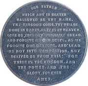 Token - Lord's Prayer – obverse