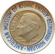 Irradiated Dime – obverse