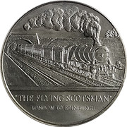The Flying Scotsman - Hands across the Seas – obverse