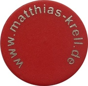 Shopping Cart Token - Matthias Krell – obverse
