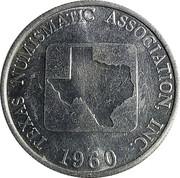 Token - Texas Numismatic Association (43rd Convention) – reverse