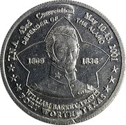 Token - Texas Numismatic Association (43rd Convention) – obverse