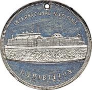 Medal - International Maritime Exhibition – reverse