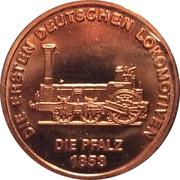 Token - 150 years of German Railroads (Pfalz 1853) – obverse