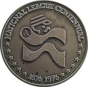 Token - National League Centennial – obverse