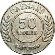 50 Cents - Ceasars casino Gauteng (Johannesburg) – reverse
