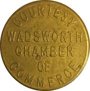 Parking Token - Wadsworth Chamber of Commerce (Wadsworth, Ohio) – reverse