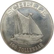 100 Tollenaar - Schelle (Ten Esche) – reverse