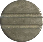 Telephone Token - CTB SP (without groove on the front and two grooves on the back) – reverse