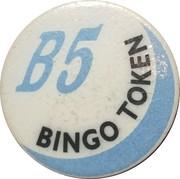Token - BJ's Bingo (Fife, Wa.) – reverse