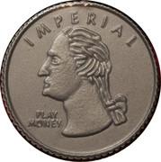 Imperial Quarter (play money) – obverse