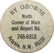 Token - By George (Artesia, N.M.) – obverse