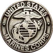 Token - Marines Corps (God bless our heroes) – obverse