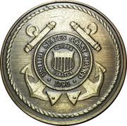 Token - U.S. Coast Guard (Saint Michael) – obverse